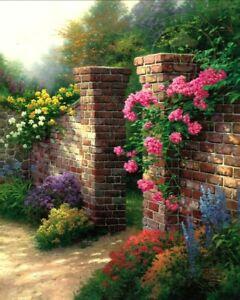 Rose Garden by Thomas Kinkade (Rose Collection)