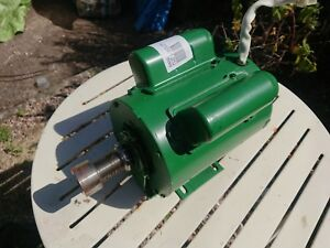3 phase 3/4hp motor with plug