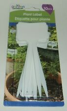 Garden Collection White Plastic Plant Labels 10 Piece Per Package