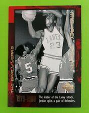 Michael Jordan 1999 Upper Deck Card #3  The Early Years.....Chicago Bulls GOAT