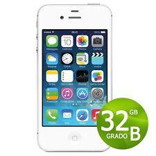 APPLE IPHONE 4S 32GB BIANCO + ACCESSORI + GARANZIA 12 MESI - RICONDIZIONATO 4 S