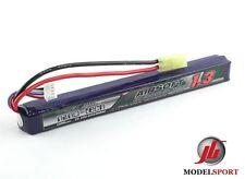 Trattamento NANOTECNOLOGICO 1300mah 3 CELLE Airsoft Lipo Battery Pack 11.1v 25 - 50 C