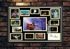 More details for (409) gerry cinnamon signed photograph framed unframed (reprint) great gift ****