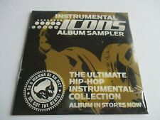 INSTRUMENTAL ICONS CD Album Sampler From The Ultimate Hip-Hop Instru Volumes NEW