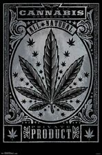 WEED - PRIVATE PRODUCT POSTER - 22x34 POT MARIJUANA LEAF CANNABIS 14344