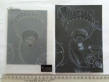 Couture Creations Hot Air Balloon Embossing Folder