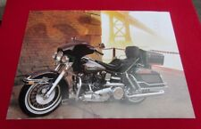 """NOS Vintage Harley-Davidson 1980 FLH Electra Glide Poster 24"""" x 18"""" Shovelhead"""