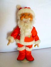 "Large 12"" Vintage Steiff Santa Claus All ID # 731 1950s Germany Stand Felt"