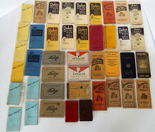 Barber's Wage Record Books 42 Year Iowa Collection Lee Carlson Iowa 1928-1970