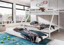 Etagenbett mit zwei unterschiedliche 140 x 200 und 90 x 200 Liegefläche NEU