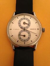 Geneve Regulator Men's $NO RESERVE$ Watch Runs/Sets/Winds Good!!KEEPING TIME!!!