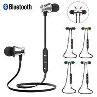 XT11 Magnetic Wireless Bluetooth Earphone Headset In-Ear Earbuds Sport Headphone