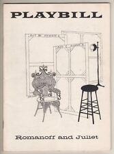 "Peter Ustinov  ""Romanoff And Juliet""   Playbill  1957   Henry Lascoe"