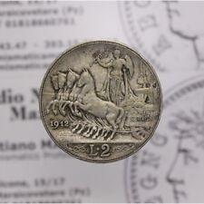 2 Lire 1912 Quadriga Veloce (Regno Italia - Vitt Em III) MB LOT1538