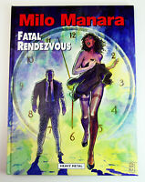 Milo Manara FATAL RENDEZVOUS Hardcover EROTIC COMIC BOOK Heavy Metal Magazine