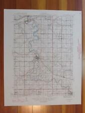 Portland Michigan 1946 Original Vintage USGS Topo Map