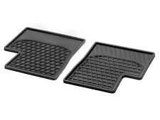 2 original smart forfour for four 453 Fuss Fuß Allwetter Gummi matte hinten Fond