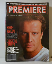 PREMIÈRE LE MAGAZINE 11/87 CHRISTOPHER LAMBERT - SOPHIE MARCEAU - A DELON (P35)