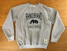Vintage Ecko Unlimited Rhino Brand World Famous Crew Neck Sweatshirt Mens Size M