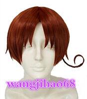APH Axis Powers Hetalia Italy Feliciano Vargas Cosplay Wig