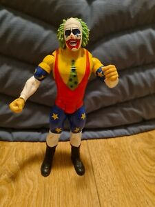 WWE Doink The Clown Jakks Clasic Superstar Series Wrestling Action Figure Rare