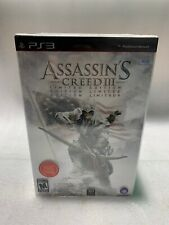 Assassin's Creed III: Limited Edition (PlayStation 3, PS3 2012) FACTORY SEALED!