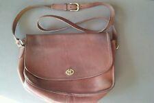 COACH Vintage Chestnut Medium Brown LEATHER CROSSBODY Messenger Purse #9790