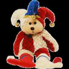 "SKANSEN  BEANIE KID ""JINGLE-JOKER"" THE BEAR  MINT WITH MINT TAG"