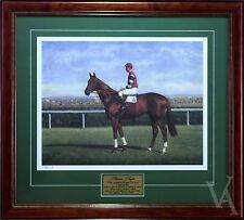 PHAR LAP THE GREATEST HORSE TO LIVE SIGNED & FRAMED HORSE RACING MEMORABILIA
