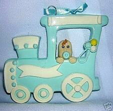 CHRISTMAS ORNAMENT *Train with Baby Boy* NEW