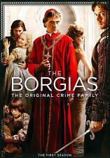 #8 THE BORGIAS First Season Brand New DVD Set FREE SHIPPING