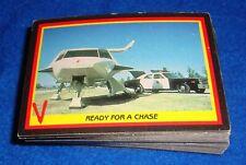 """1984 Fleer """" V """" Visitors TV Series Complete 66 Card Base Set"""
