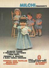 X2447 Milchi Primodente - MIGLIORATI - Pubblicità 1980 - Advertising