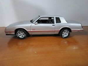 WELLY 1/18 *VHTF* SILVER 1987 MONTE CARLO SS USED *READ* DISCONTINUED NO BOX
