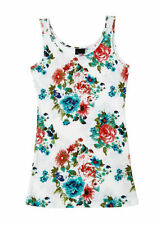 Jersey Floral Regular Size Tunic Dresses for Women