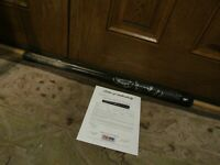 2010 Jose Iglesias Louisville Slugger Game Used Autographed Baseball Bat PSA