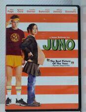film Dvd JUNO Ellen Page Jennifer Garner Jason Bateman M. Cera Jason Reitman