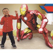 "Iron Man Avengers AIRWALKER 46""Jumbo Foil Balloon Party Supply Favor Decoration"