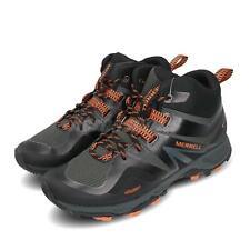 Merrell MQM Flex 2 Mid GTX Gore-Tex Black Grey Orange Men Outdoors Shoes J034225