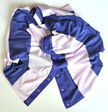 NEW Lululemon Vinyasa Scarf Vitasea Bold Stripe Pretty Purple Stony Grape Wrap