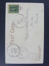 Knox Iowa 1907 Type 2/1 Doane Cancel Used Only 6 Months Postcard DPO 1884-1908