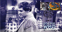 """Doctor Who """"The Daleks' Master Plan"""" Classic Stamp Cover - Signed PETER PURVES"""