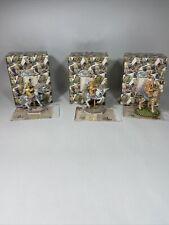 Cherished Teddies Lot Of 3 Carousel Figures RARE Crystal Flossie & Crystal