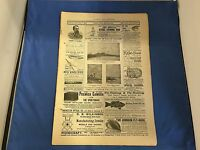 FOREST AND STREAM MAGAZINE NEWSPAPER VINTAGE ORIGINAL MARCH 3, 1894 ISSUE