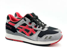 Asics Gel Lyte III 3 Black Classic Red H635L 9023 Multiple Sizes New
