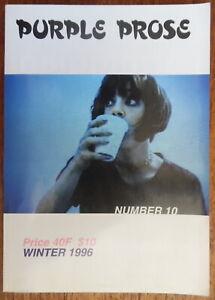 Purple prose - Number 10 Winter 1996 - Dike Blair - Elein Fleiss - 1996