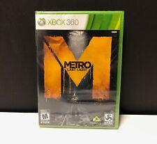 Metro: Last Light (Xbox 360, 2013) NEW/SEALED!
