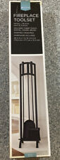 Fireplace Toolset Brand New In Box (Target) Discontinued