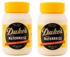 Duke's Real Mayonnaise Smooth & Creamy 2 Jar Pack