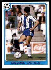 Panini Futbol 92-93 (España) Ezequiel Castillo no. 120